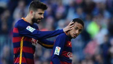 """بيكيه: """"عرضنا تقليل رواتبنا حتى يتمكن نيمار من العودة إلى برشلونة"""""""