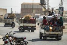 حوالي 200،000 شخص نزحوا بسبب الهجوم التركي على سوريا