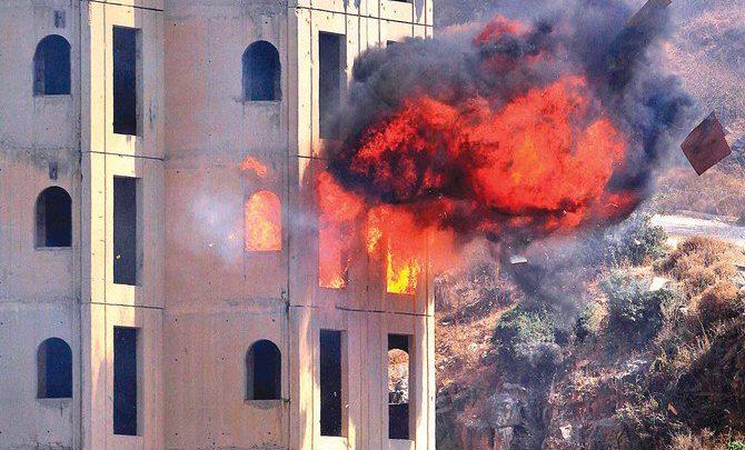 التدريبات الكبرى تختبر استجابة لبنان للهجوم الكيميائي