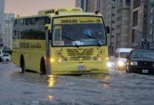 Photo of الأمطار الغزيرة تغلق بعض المدارس في الإمارات