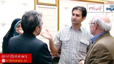 صورة إطلاق سراح مدونين أستراليين في مجال تبادل الأسرى الإيرانيين