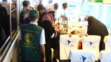 وكالة المساعدات الإنسانية السعودية تعيد 143 صومالياً من اليمن
