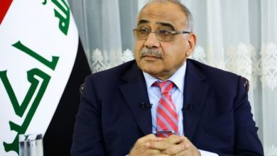 رئيس الوزراء العراقي يخاطب الأمة ويحث المحتجين على العودة إلى ديارهم