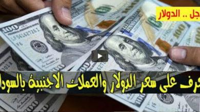 سعر الدولار وأسعار صرف العملات الأجنبية مقابل الجنيه السوداني اليوم الإثنين 11 نوفمبر 2019 في السوق السوداء والبنك المركزي