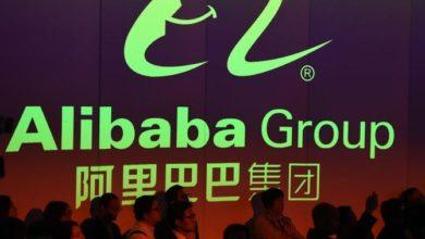 صورة ارتفاع سهم عملاق التجارة الإلكترونية علي بابا لأول مرة في هونج كونج