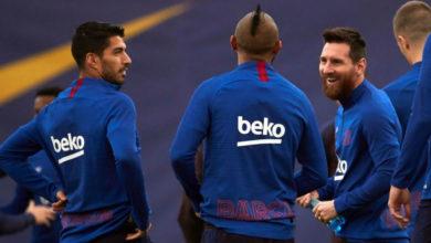صورة رحيل لاعبي برشلونة الدوليين سيف ذو حدين لفالفيردي