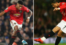 بالأرقام راشفورد يسجل أداء أفضل من كريستيانو رونالدو في مانشستر يونايتد