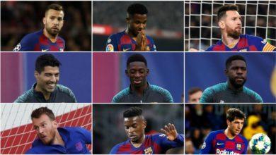 فالفيردي يخسر نصف تشكيلة برشلونة بسبب الإصابة