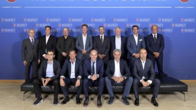 Photo of مورينيو يلتقي مع زيدان في لقاء مدربي الاتحاد الأوروبي لكرة القدم