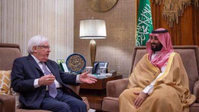 صورة مبعوث الأمم المتحدة يهنئ المملكة العربية السعودية لتوسطها في اتفاق سلام اليمن