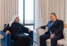 Photo of تكريم رئيس رابطة العالم الإسلامي في الولايات المتحدة لتعزيز السلام والوئام العالمي