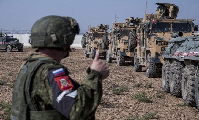 القوات التركية والروسية تقوم بدورية مشتركة ثالثة في سوريا