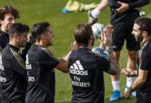 فران غارسيا يتدرب مع ريال مدر