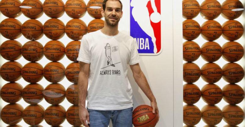 خوسيه كالديرون يعلن اعتزاله كرة السلة