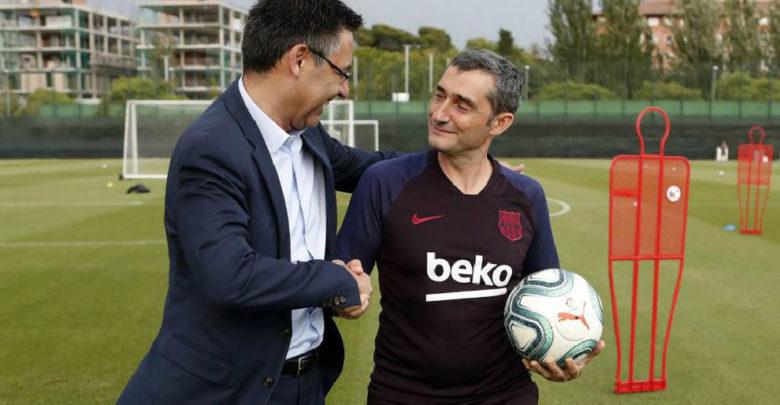 بارتوميو: فالفيردي هو المدرب المثالي لعصر برشلونة