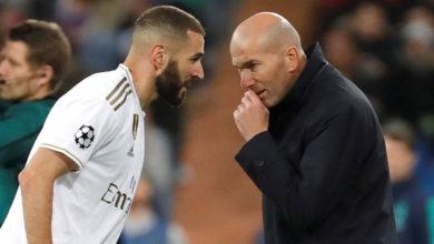 زيدان: بنزيمة يشبه كريستيانو رونالدو في تاريخ ريال مدريد