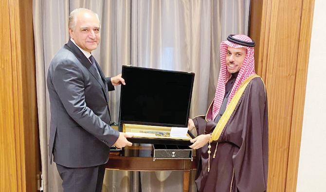 المبعوث المصري يلتقي وزير الخارجية السعودي