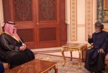 نائب وزير الدفاع السعودي يلتقي حاكم عمان