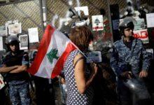 الجندي الذي أطلق النار على متظاهر لبناني متهم بالقتل