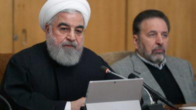 """روحاني: هزيمة """"مؤامرة العدو"""" في إيران التي ضربتها الاحتجاجات"""