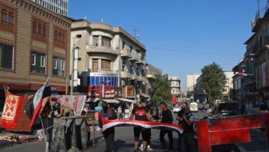 Photo of المتظاهرون العراقيون يغلقون الطرق المؤدية إلى الموانئ وحقول النفط