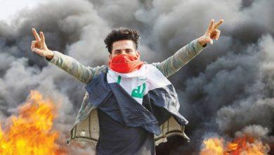 Photo of المتظاهرون المناهضون للحكومة العراقية يسدون ميناء عراقي رئيسي