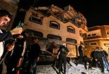 صورة إسرائيل تقصف منزل قائد الجهاد الإسلامي في غزة
