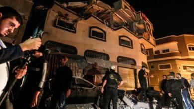 إسرائيل تقصف منزل قائد الجهاد الإسلامي في غزة
