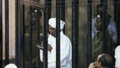 صورة أنصار البشير السوداني يعارضون تسليم المحكمة الجنائية الدولية