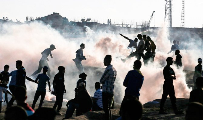 الغارات الجوية الإسرائيلية الانتقامية تقتل فلسطينيين وتجرح 2