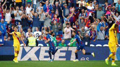 صورة برشلونة يخسر 3-1 أمام ليفانتي رغم هدف ميسي