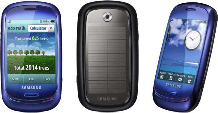 الفلاش باك: سامسونج بلو إيرث والهواتف التي تعمل بالطاقة الشمسية