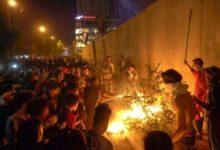 Photo of مقتل ثلاثة متظاهرين في كربلاء بالعراق بالقرب من القنصلية الإيرانية