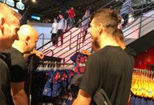 لاعبو سلافيا براغ يذهبون لمشاهدة معالم المدينة في برشلونة