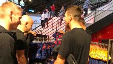 Photo of لاعبو سلافيا براغ يذهبون لمشاهدة معالم المدينة في برشلونة