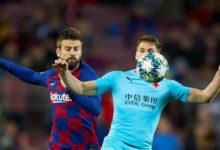 بيكيه يغيب عن مباراة برشلونة أمام بروسيا دورتموند