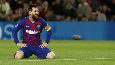 سلافيا براغ يجبر برشلونة على التعادل سلبيا في دوري أبطال أوروبا
