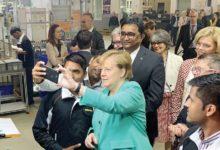 صورة ميركل تجدد مساعيها لإبرام اتفاقية تجارة حرة مع الهند