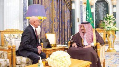 الملك سلمان يستقبل رئيس مجلس النواب الليبي