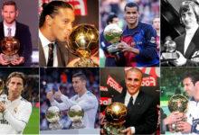 Photo of برشلونة يمتلك 12 فائزًا بجائزة الكرة الذهبية بينما فريق ريال مدريد لديه 11