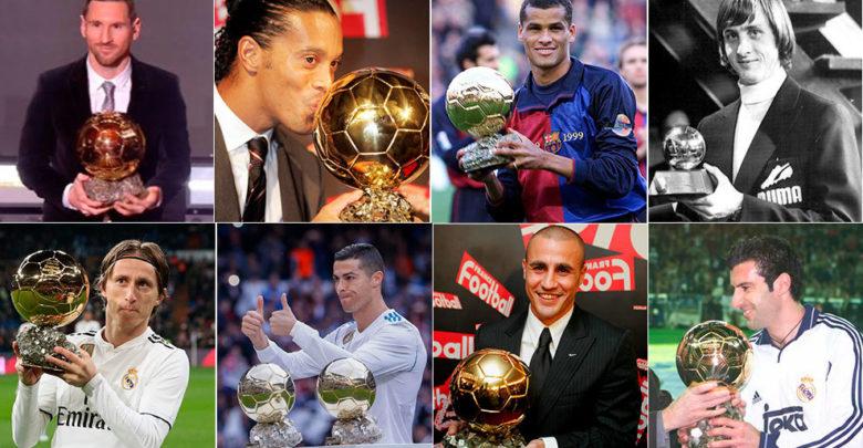 برشلونة يمتلك 12 فائزًا بجائزة الكرة الذهبية بينما فريق ريال مدريد لديه 11
