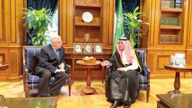 Photo of وزير الخارجية السعودي يستقبل السفير الأمريكي بالرياض