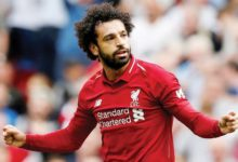 محمد صلاح نسعي للفوز في لقب الدوري الانجليزي الممتاز