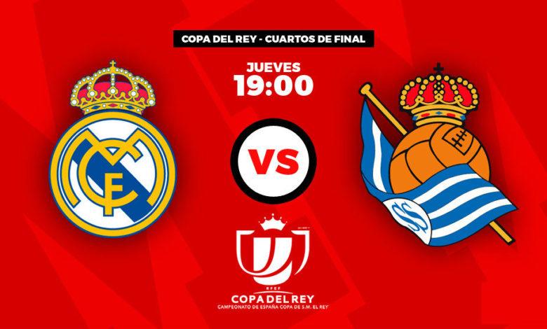 ريال مدريد وريال سوسيداد: هل يخرج ريال مدريد من مباراة ربع النهائي من كأس ملك اسبانيا