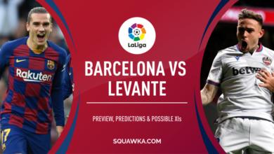 Photo of موعد مباراة برشلونة وليفانتي اليوم الأحد 2 فبراير 2020،  التشكيلة والغيابات والقنوات الناقلة
