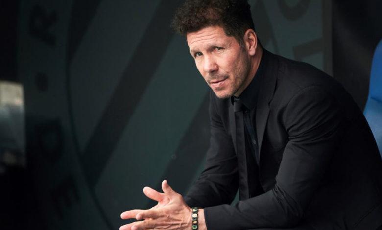 دييغو سيميوني: لاعبي أتليتيكو مدريد يبذلون قصارى جهدهم