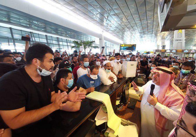 السفارة السعودية في جاكرتا توفر الإقامة للمواطنين العالقين في إندونيسيا