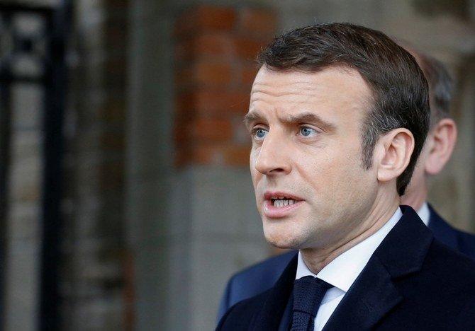 """الرئيس الفرنسي ماكرون يمنح """"الدعم الكامل"""" لأحدث إجراءات البنك المركزي الأوروبي"""