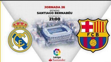 Photo of التشكيلة المتوقعة لريال مدريد و برشلونة في كلاسيكو اليوم الاحد 1مارس 2020