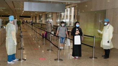 Photo of مواطنون سعوديون يصلون إلى الدمام في رحلة إجلاء من ماليزيا